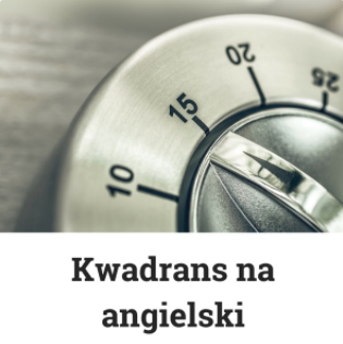 podcast Kwadrans na angielski